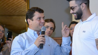 Gusttavo Lima é empossado mais uma vez Embaixador da Festa do Peão de Barretos