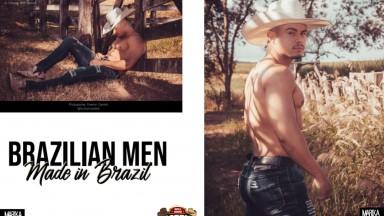 Mister Rodeio é destaque em revista da Rússia