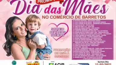ACIB e Sincomércio realizam promoção de Dia das Mães