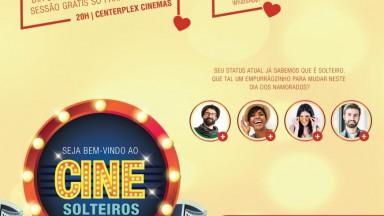 North Shopping Barretos realiza o 2º Cine Solteiros no dia 06 de junho