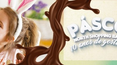 Cheiro de chocolate invadiu o North Shopping Barretos