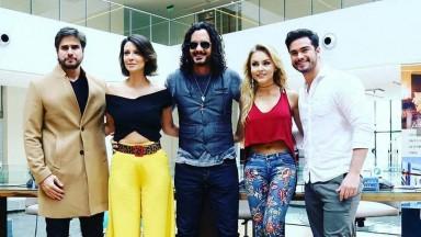 TV do Paraguai comemora 20 anos com a presença de estrelas de novelas internacionais