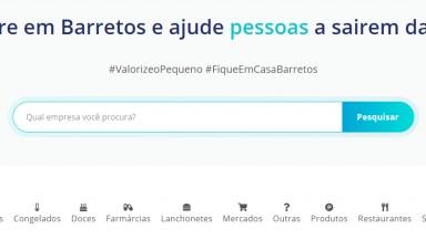 Covid-19: Pequenos e microempresários de Barretos podem se cadastrar em site gratuitamente para divulgarem seus serviços