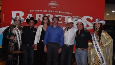 Ribeirão Preto recebeu lançamento oficial da Festa do Peão de Barretos