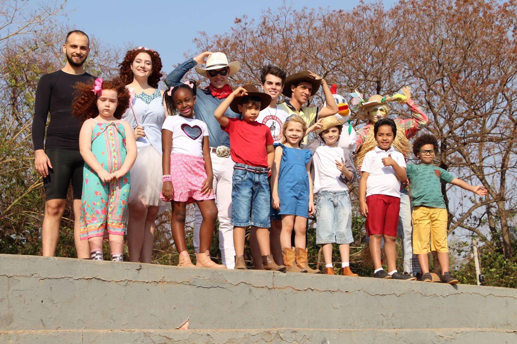 Websérie Turma do Peãozinho estreia no Dia das Crianças